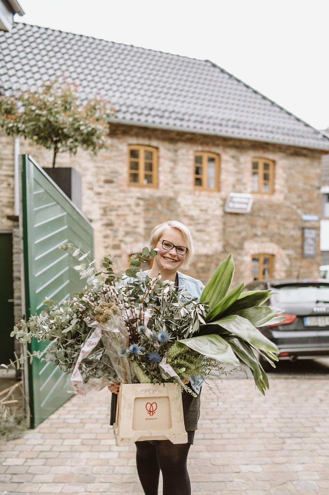Styled Shooting, Winterhochzeit, Weingut, Dekoration, Floristin, Blumen
