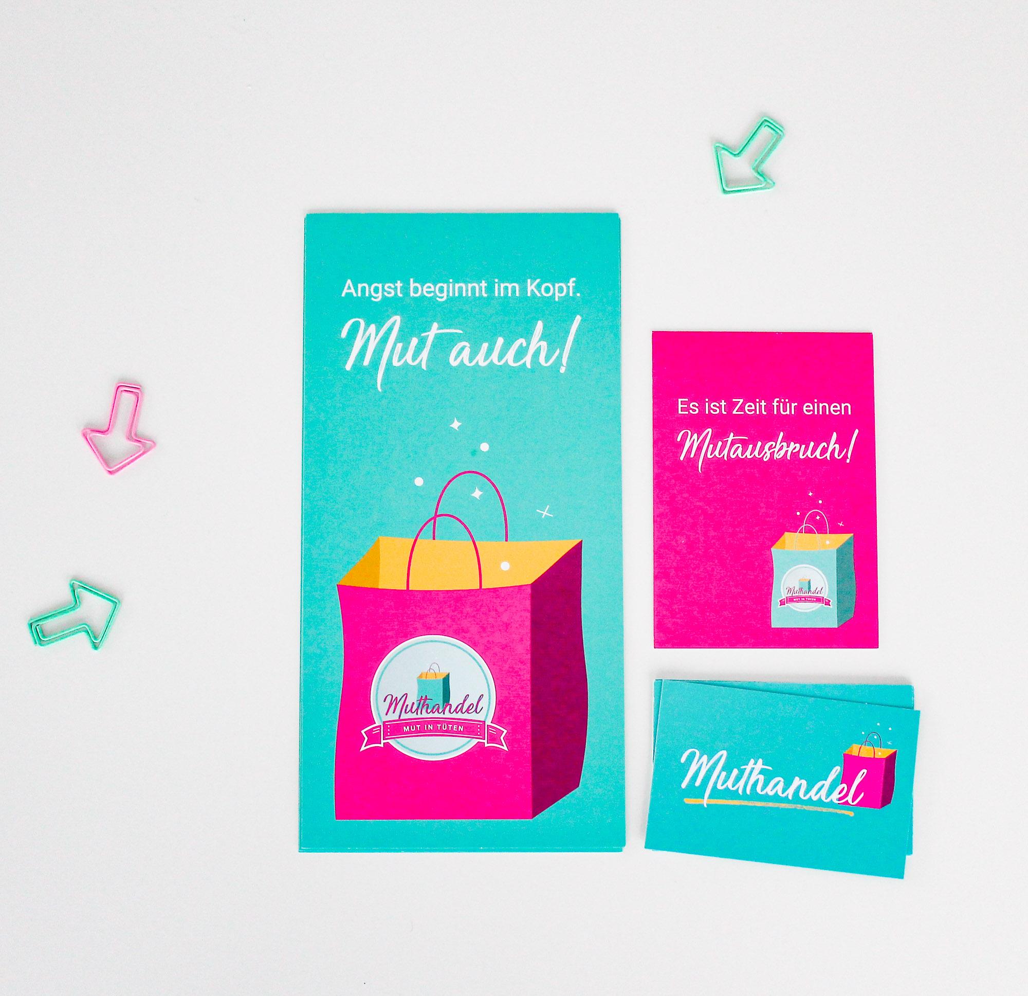Referenz, Design, Corporate Design, Gestaltung, Flyer, Visitenkarte, Postkarte