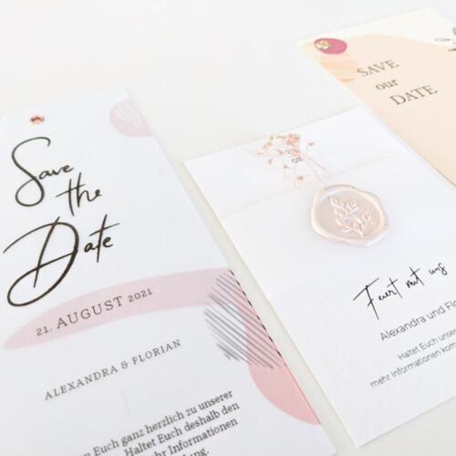 DIY-Papeterie, Einladungen selber machen, Set