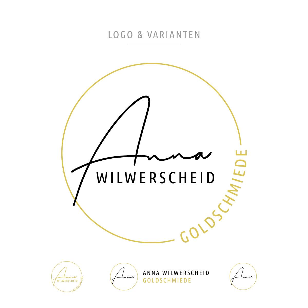Logo & Varianten Design Anna Wilwerscheid